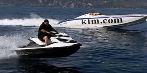A screengrab from Kim Dotcom's Good Life video. Photo: MrKimDotcom/YouTube