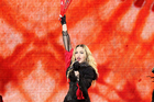 Madonna was acting weird on stage in Louisville, Kentucky prompting fans to believe she may have been  under the influence. Photo / Getty