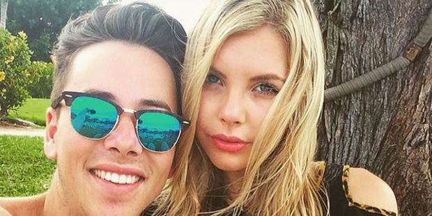 Max Key and his girlfriend Amelia Finlayson have reportedly split up. Photo / Instagram
