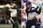 Colin Munro and Martin Guptill are in line for lucrative IPL deals. Photo / Getty Images
