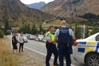 Four fugitives who led police on a high-speed chase through Central Otago and Queenstown were arrested after they were brought to a halt by a flock of sheep on the road.