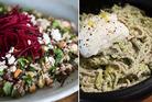 Delaney's delicious salads. Photos / Jason Oxenham