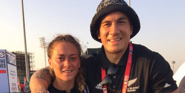 Niall Williams and Sonny Bill Williams are among four siblings in the men's and women's sevens squads. Photo / Twitter - Sonny Bill Williams