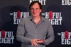 Quentin Tarantino arrives on the red carpet of the NZ premiere of The Hateful Eight at Event Cinemas in Broadway.  20 January 2016. New Zealand Herald photograph by Jason Oxenham