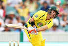 David Warner in action for Australia. Photo / Getty
