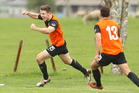Mitchell Miller scored both late goals to give Ngongotaha the win in their first leg NRFL match at Stembridge Rd today.  Photo/Ben Fraser