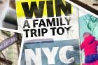 Win a family trip to New York City