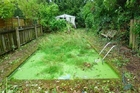 If it clears up later I might mow the pool ... Via terriblerealestateagentphotos.com)