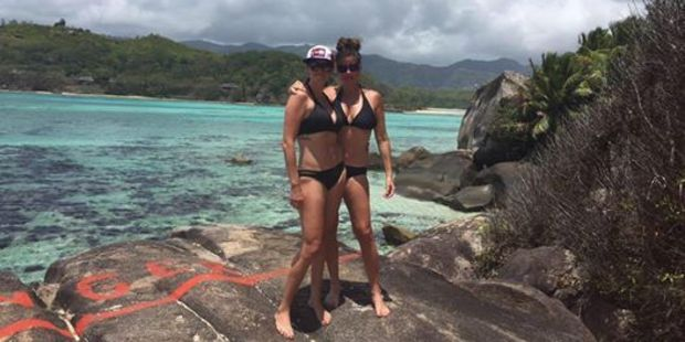 The sisters posted a number of photos of their holiday. Photo / Facebook