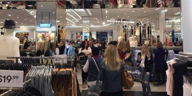 Two hundred shoppers attended the VIP opening last night. Photo / Holly Ryan