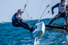 Gemma Jones teamed up with Jason Saunders in the Nacra 17 class at the Rio Olympics. Photo/PHOTOSPORT