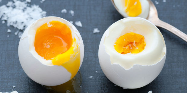 Boiled eggs are notoriously difficult to peel. Photo / 123RF