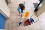 There were a handful of entries for cleaning credits, including in courses where students learned about emptying bins, clearning toilets and washing floors. Photo / 123RF
