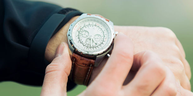 Matt Meltzer investigated what would happen if he wore a luxury timepiece by hiring one for a month from a company called Eleven James. Photo / 123RF