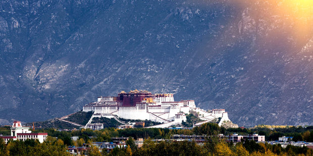 Potala towers more than 300 metres over the Lhasa river valley. Photo / 123RF