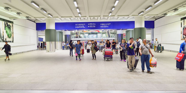 The incident occurred at Chek Lap Kok International Airport in Hong Kong. Photo / 123RF
