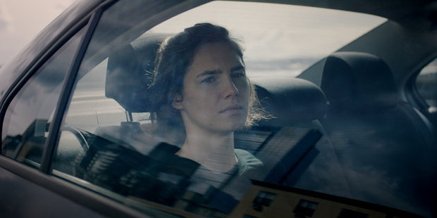 Loading This image released by Netflix shows Amanda Knox in a scene from her self-titled documentary. Photo / Netflix