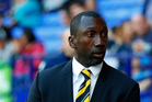 QPR manager Jimmy Floyd Hasselbaink is being accused of alleged corruption within the English football ranks. Photo / Photosport