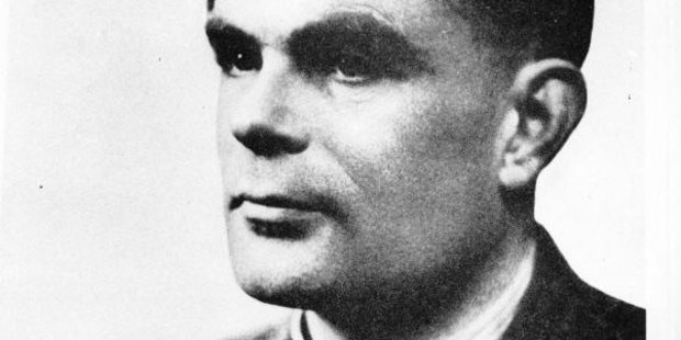 Alan Turing, wartime cryptographer, mathematician and inventor of the forerunner of the modern computer.
