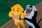 Still from Disney's 1994 animated classic 'The Lion King'