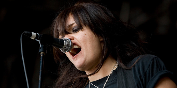Lani Purkis from Elemeno P, the Kiwi pop-grunge band that will reunite for Homegrown.