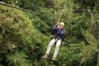 Rotorua Canopy Tours offers a zipline attraction through forest on the outskirts of the city. Photo / Supplied