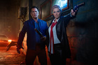 Bruce Campbell and Lucy Lawless say season two of Ash vs Evil Dead is going to get messy.