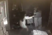 Surveillance video released by the Gwinnett County Police Department shows the incident unfold in the early morning hours September 16. Photo / Supplied