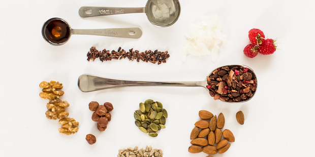Ingredients used in CleanPaleo products.