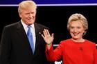 Donald Trump came across as a nasty little boy telling porkies, but Hillary Clinton came across as a condescending mother. Photo / AP