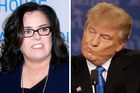 Rosie O'Donnell's response to Donald Trump is perfect. Photo / Getty Images, AP