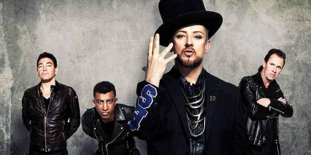 Boy George will head Culture Club in their first visit to New Zealand. Photo / Supplied