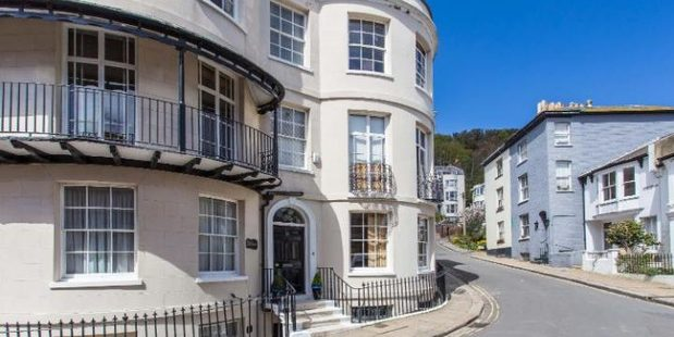 The Hastings home used on ITV's Foyle's War