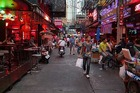 UNDERBELLY: A red light district in Bangkok. PHOTO: SUPPLIED