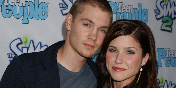 Sophia Bush (right) has branded ex Chad Michael Murray a 'f***boy' after being taunted online. Photo / Getty Images