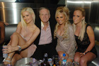 New research suggests Hugh Hefner might be better off surrounding himself with less attractive companions.