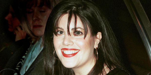 Former White House intern Monica Lewinsky. who figures in allegations of a presidential coveru. Photo / Getty Images