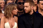 Taylor Swift (L) and Calvin Harris attend the 2015 Billboard Music Awards at MGM Grand Garden Arena on May 17, 2015 in Las Vegas, Nevada. Photo / Getty