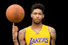 Brandon Ingram poses for a portrait during the 2016 NBA rookie photo shoot. Photo / Getty Images