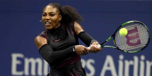 Serena Williams during her Women's Singles Semifinal at the US Open. Photo / Getty Images