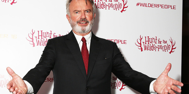 Sam Neill attends a gala screening of Hunt for the Wilderpeople at the Picturehouse Central on September 13 in London. Photo / Getty