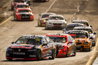 Jamie Whincup leads the field during the Sandown 500. Photo / Getty Images