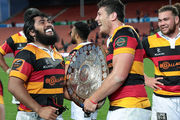Will this be the last time Waikato hold the Shield? Photo / Getty