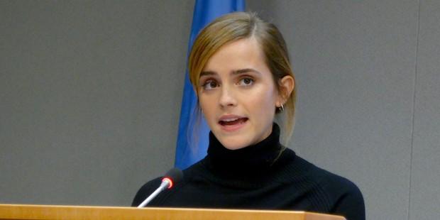 UN Women Goodwill Ambassador actress Emma Watson's speech was ridiculed by a UK columnist. Photo / Getty Images