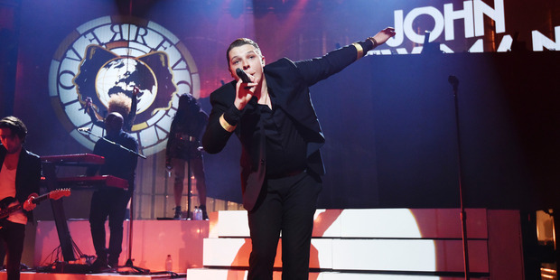 John Newman performs at the Apple Music Festival at The Roundhouse on September 23, 2016 in London, England. Photo / Getty
