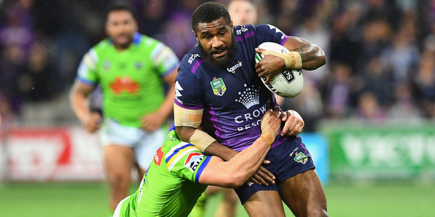 Marika Koroibete is leaving the NRL to pursue a rugby union career with the Melbourne Rebels and the Wallabies. Photo / Getty