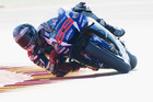 Jorge Lorenzo during qualifying of the MotoGP of Spain. Photo / Getty Images