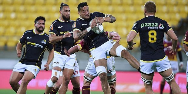 Vaea Fifita was immense for the Wellington Lions. Photo / Getty