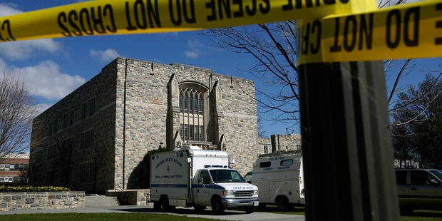 Virginia Tech happens to be the site of the deadliest mass shooting in the US. Photo / Getty