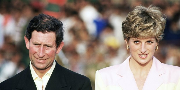 Charles and Diana's body language was telling two months before their separation. Photo / Getty